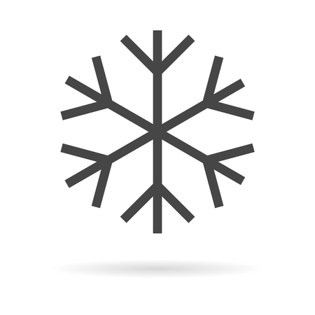 ice crystal: snowflake, vector, line, xmas, icon, holiday, graphic, monogram, winter, symbol, ice, abstract, crystal, frost, snow, frozen, flake, art, cold, design, weather, set, isolated, snowfall, decoration, logo-gram, white, ornament, new, sign, celebration, eleme