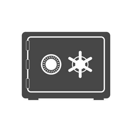 new account: Safe icon Illustration
