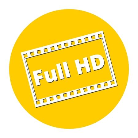 full hd: Full HD icon