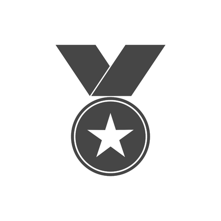 star award: Award icon with star