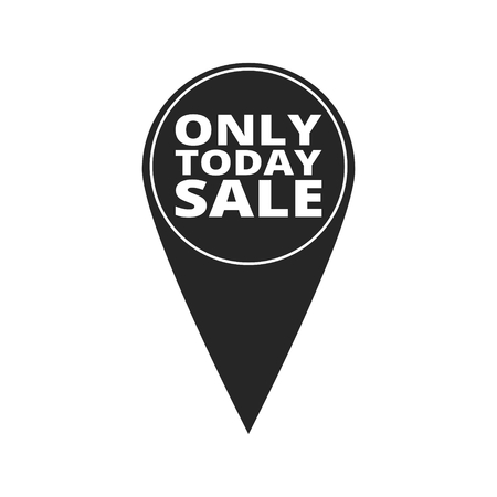 only: Only Today Sale - map pointer