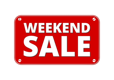 weekend: Weekend Sale - brass plate