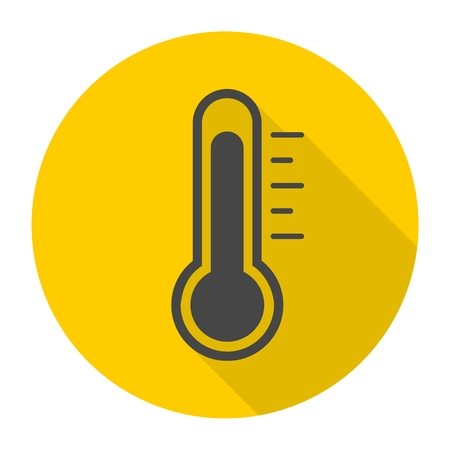 diagnostic: icon, celsius, isolated, cold, warm, volumetric, spring, view, vector, temperature, sign, symbol, measurement, summer, graphic, element, drawing, technology, scale, diagnostic, shape, equipment, season, accuracy, illustration, object, front, degree, measu
