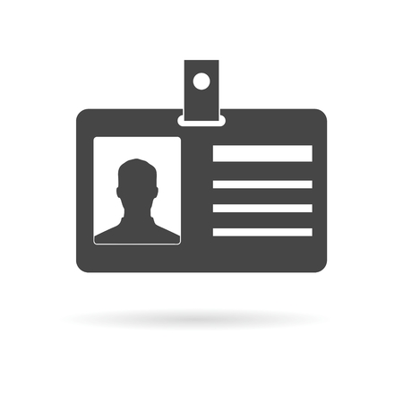contact details: ID Card Icon