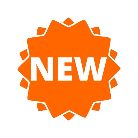 New button sign icon Illustration