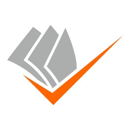 company name: , Icon design element, company name