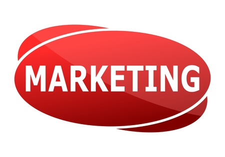 retailing: Marketing red sign