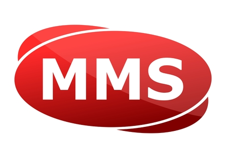 mms: MMS red sign