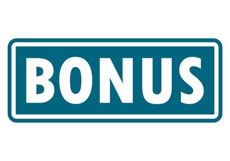 bonus: Bonus sign, icon, stamp