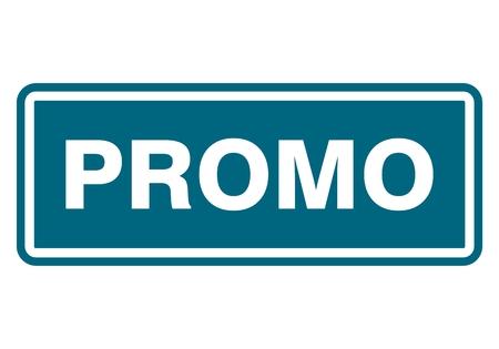 promo: Promo sign, icon, stamp