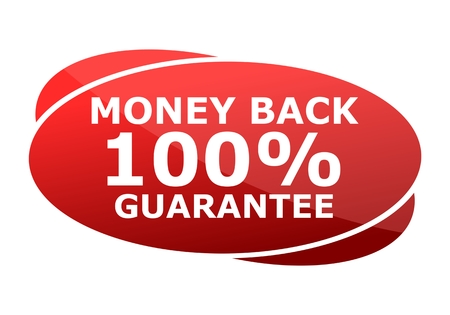 money back: Money Back Guaranteed Illustration
