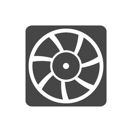 exhaust fan: Exhaust fan vector icon Illustration