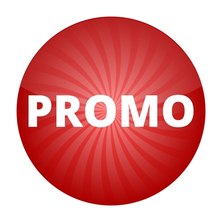 promo: Promo red sign