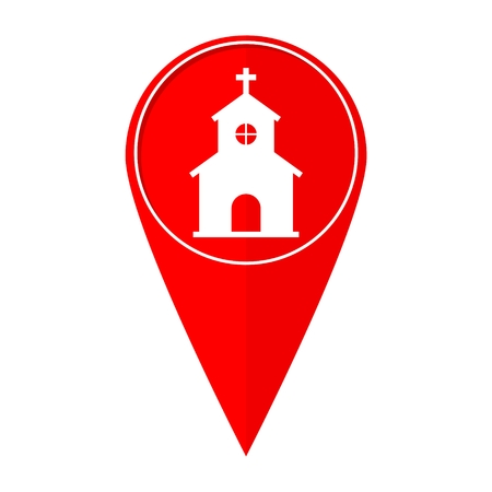 holy place: Map pointer church