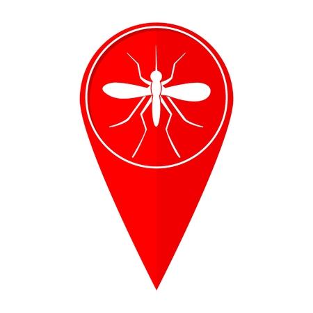 dipterus: Map pointer mosquito
