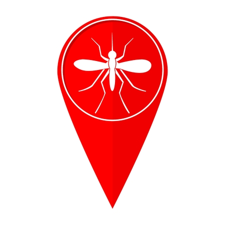 Map pointer mosquito