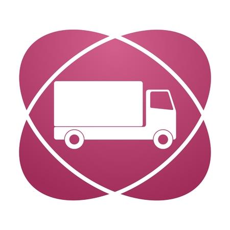 scrapheap: Pink sign truck