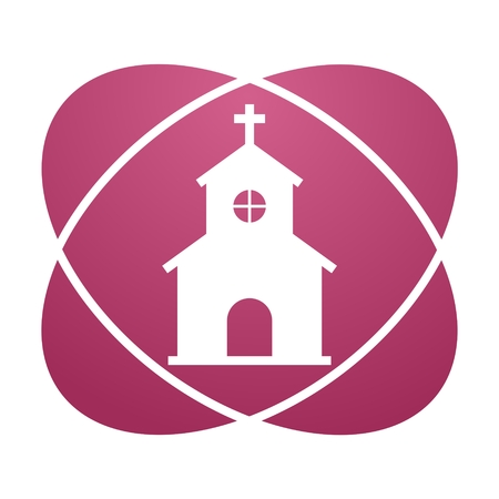 love dome: Pink sign church