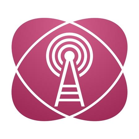 transmitter: Pink sign transmitter
