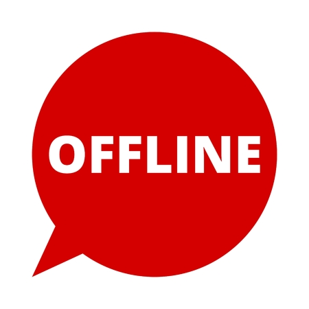 offline: Speech Bubble offline