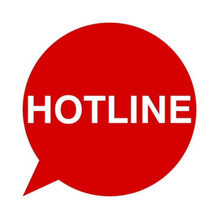 hotline: Speech Bubbles hotline