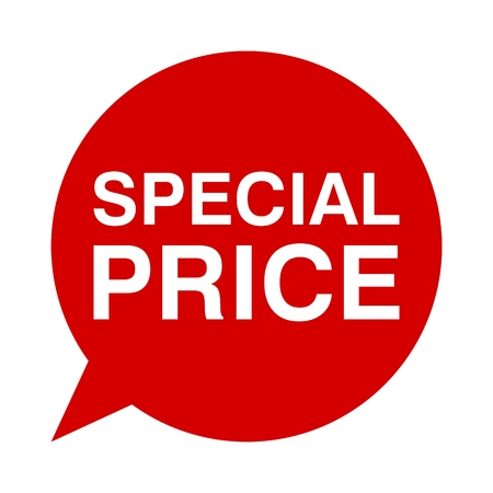 special price: Speech Bubble special price