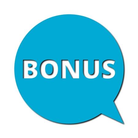 bonus: Speech Bubble bonus with shadow