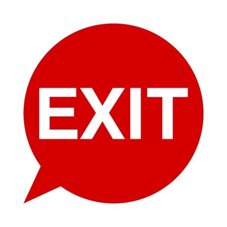 deploy: Speech Bubble exit