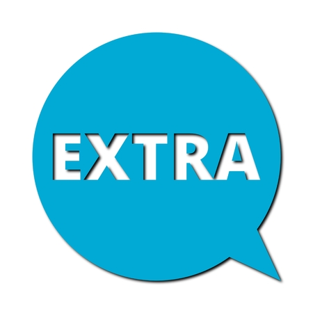 extra: Speech Bubble extra with shadow