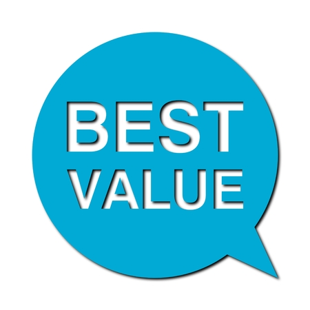 keywords bubble: Speech Bubble best value with shadow