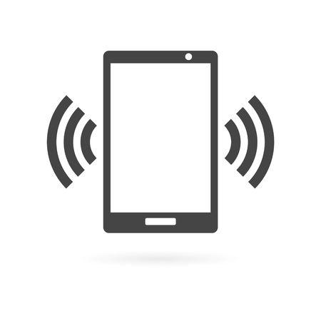 smartphone icon: Smartphone wi fi icon
