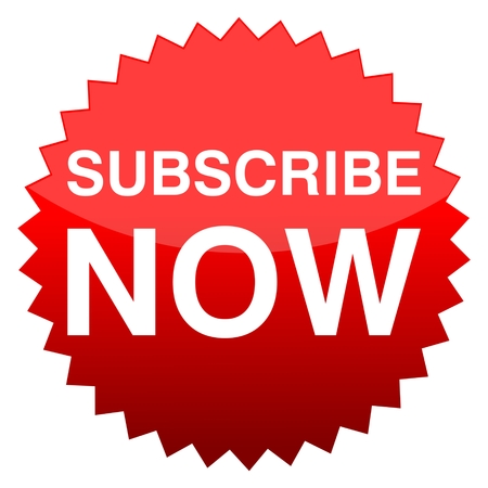 subscribe now: Red button subscribe now