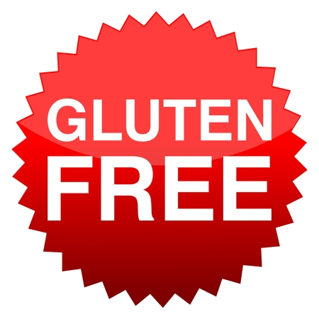 gluten: Red button gluten free