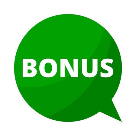bonus: Green Speech Bubble bonus