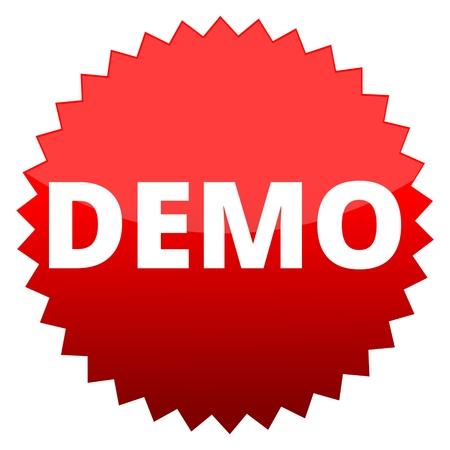 demo: Red button demo