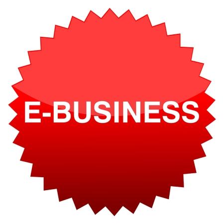 ebusiness: Red button e-business