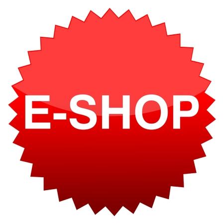 eshop: Red button e-shop