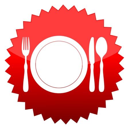 red sun: Red sun sign restaurant