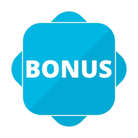 freebie: Blue square icon bonus Illustration