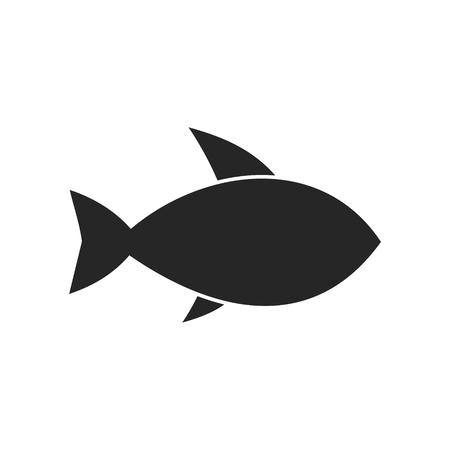 Fisch-Symbol Standard-Bild - 56714310