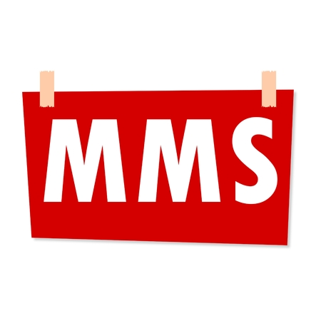 mms: MMS Sign - illustration