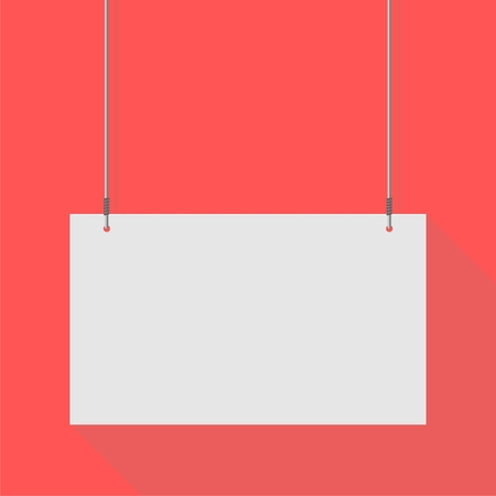 hanging sign: Hanging Sign red