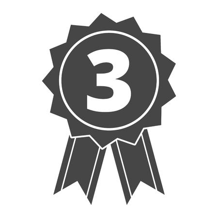 medal like: Award icon, Vector illustration