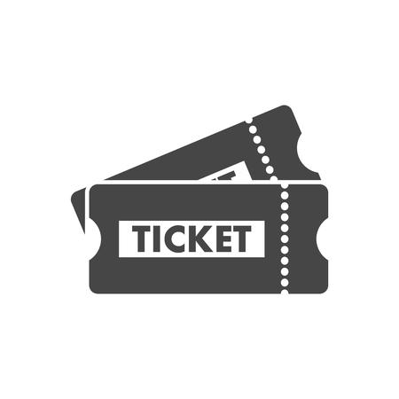 Ticket icon Illusztráció