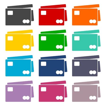 transact: Credit Card Icons set