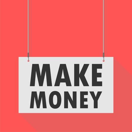 hanging sign: Hanging Sign make money