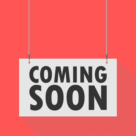 hanging sign: Hanging Sign coming soon