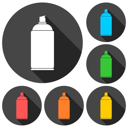 Spray icon Illustration