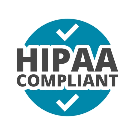 compliant: HIPAA icons