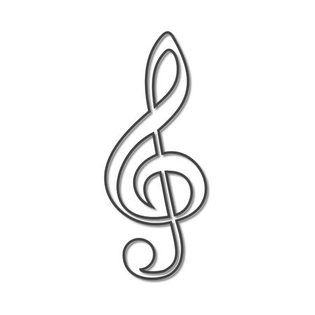 festival scales: Treble Clef icon